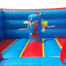 Chateau Clown Gonflable 4M