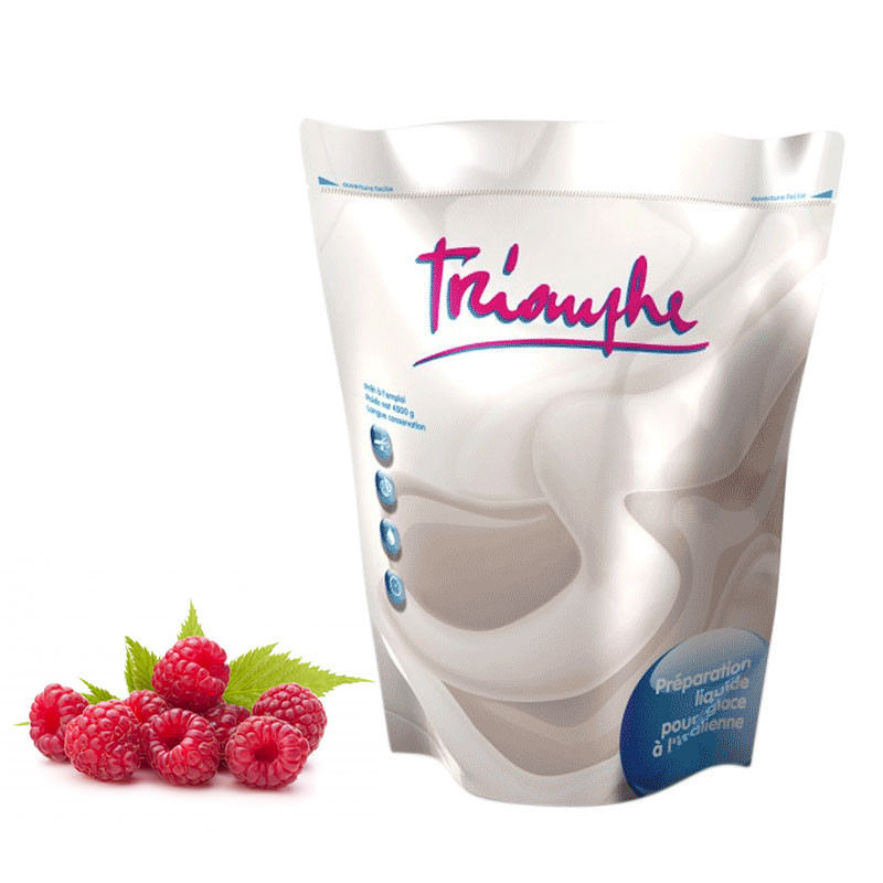 Achat Framboise Poche Mix à Glace Italienne