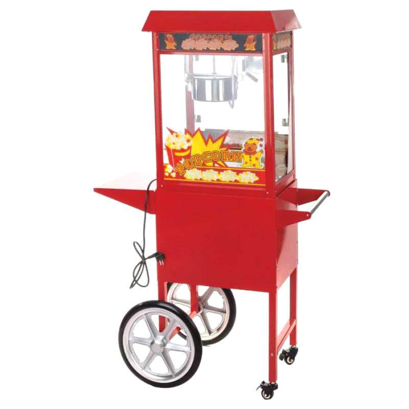 Achat Machine à Pop Corn Professionnelle avec Chariot