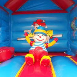 Achat Château Gonflable et Toboggan Gonflable Clown 4m