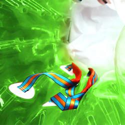 Bubble Foot Adulte TPU Bicolore Vert