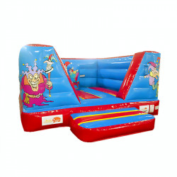 Chateau Clown Gonflable 4M