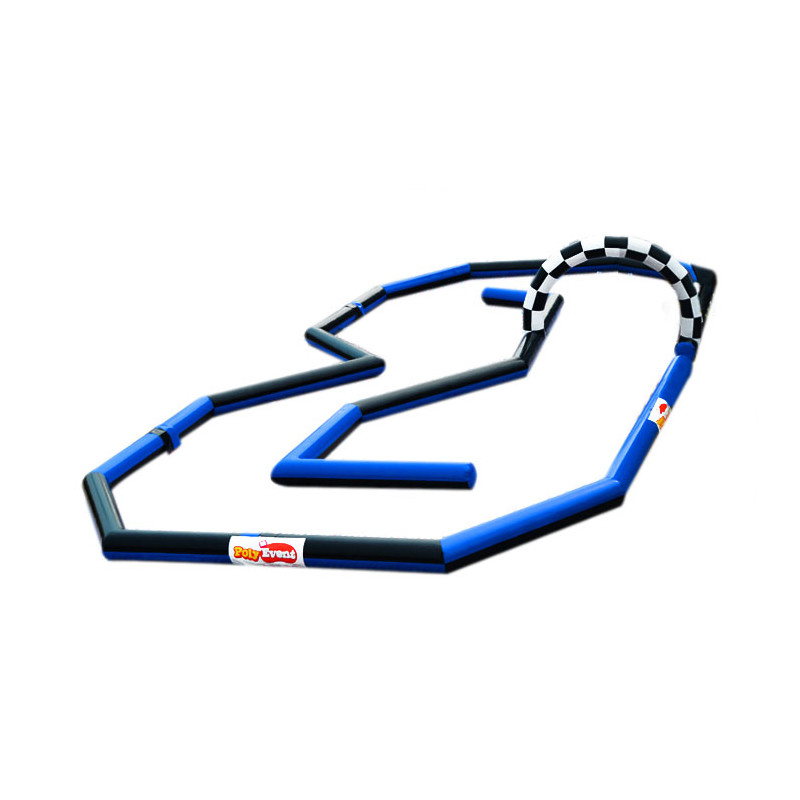 Achat Circuit Gonflable 25x12m pour karts à pédales, mini voitures électriques, quads et autres petits véhicules motorisés