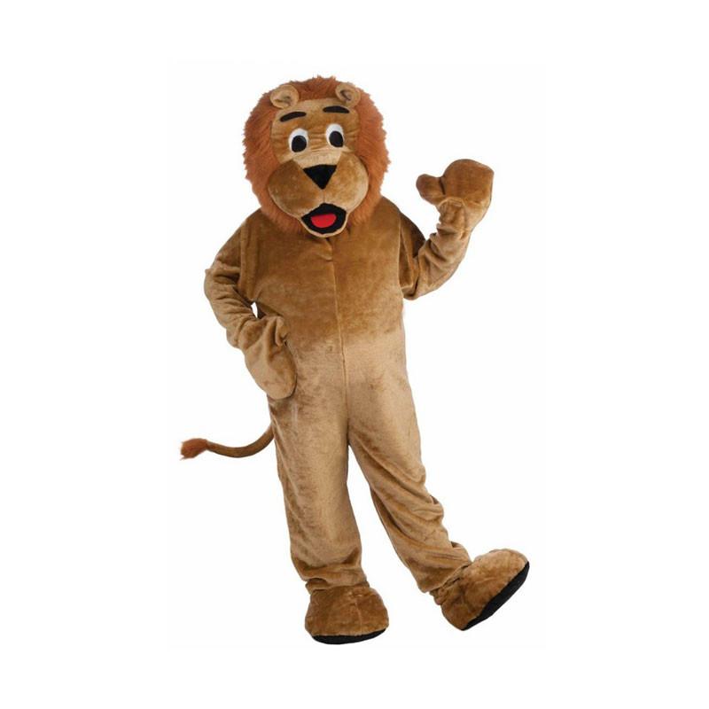 Déguisement Mascotte Lion Taille Adulte