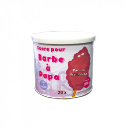 Sucre Barbe à Papa Framboise
