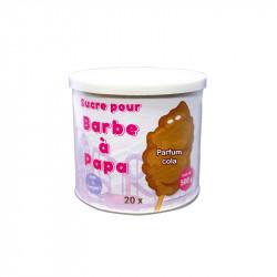 Sucre Barbe à Papa Cola