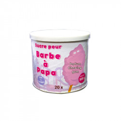 Sucre Barbe à Papa Bubble Gum