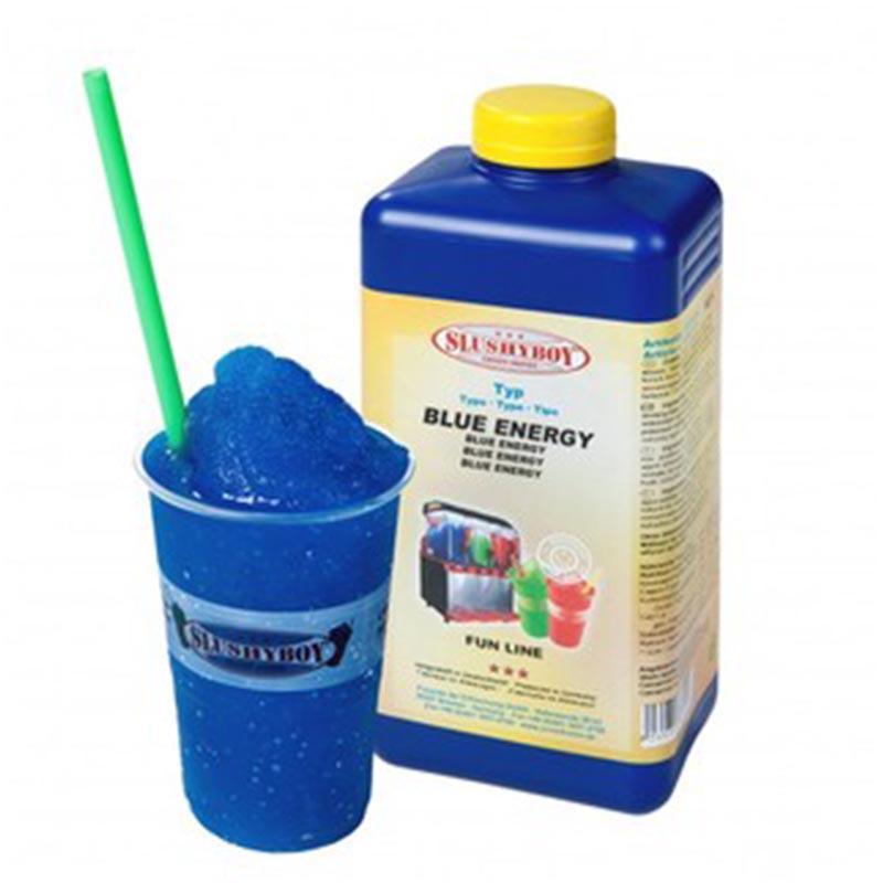 Achat Sirop Blue Energy pour Granita, Machine Granita