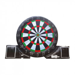 Foot Darts Géant Gonflable