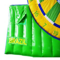 Achat Foot Darts World Cup Brésil Géant, Foot Fléchette, Ballons Foot Velcro
