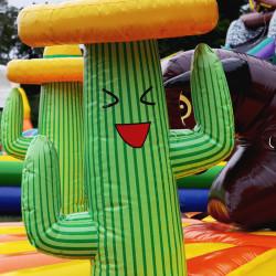 Location rodéo à corde, location jeu gonflable taureau