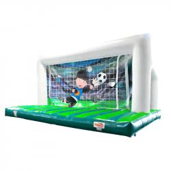 Location Penalty à trous, Cage de Foot Gonflable avec Cibles, But de Foot avec Cibles