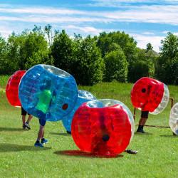 Achat Bubble Foot Enfant TPU Bicolore Vert