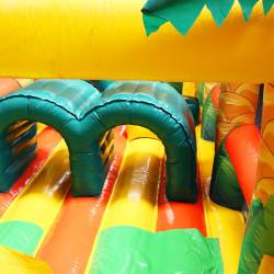 Achat Parcours Jungle Gonflable Géant, Parcours Gonflable