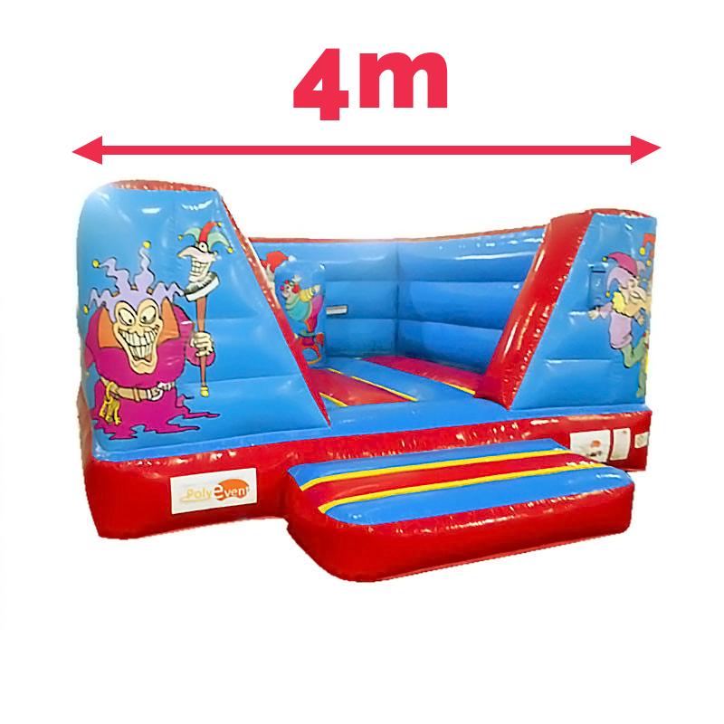 Achat Château Gonflable Clown 4M