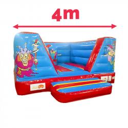Château Clown Gonflable 4M