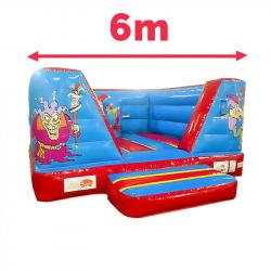 Château Clown Gonflable 6M