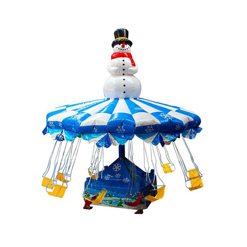Chaises Volantes Bonhomme de Neige