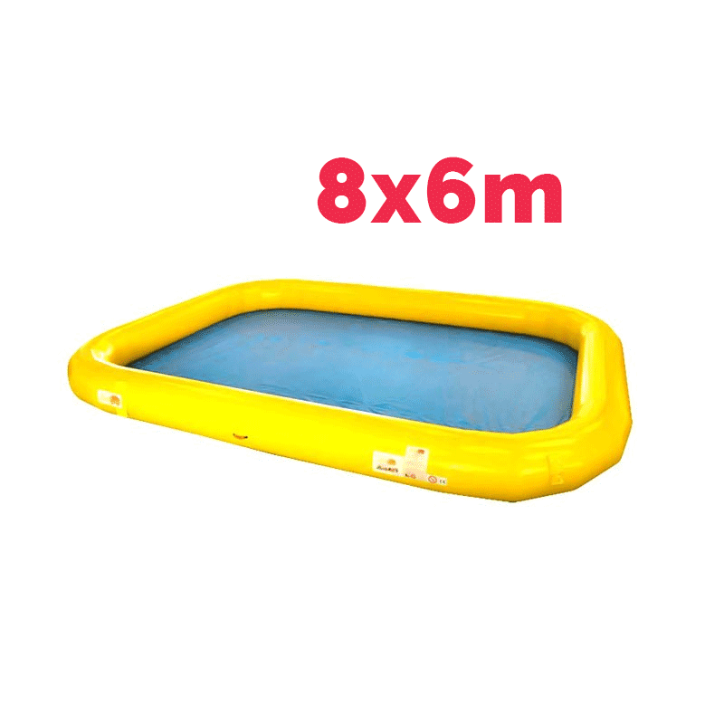 Achat Bassin Gonflable 8x6m