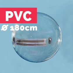 Waterball PVC 1,8m Transparent