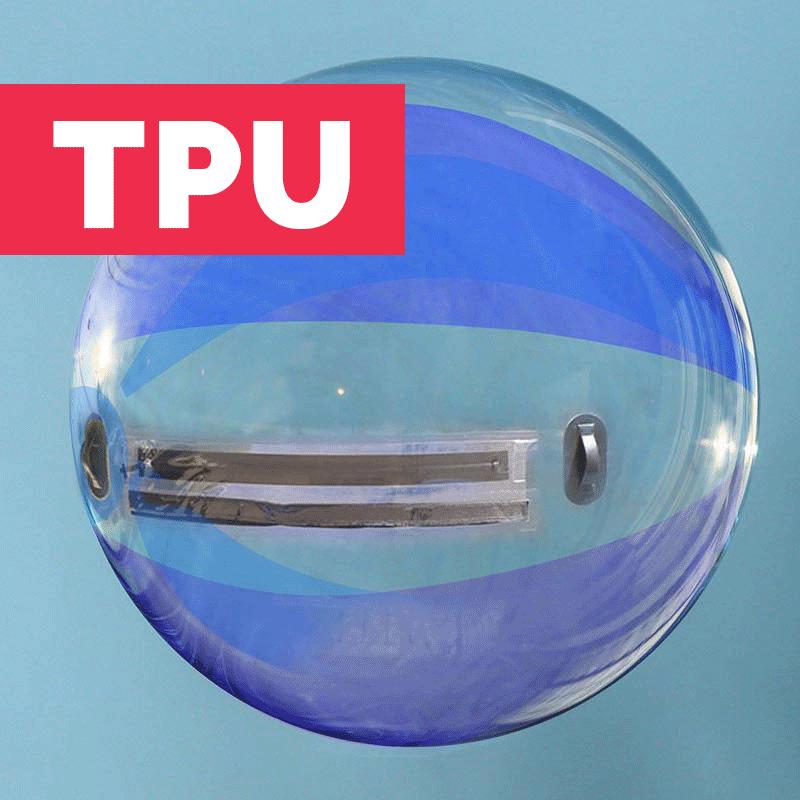 Waterball TPU 2m Bicolore Bleu