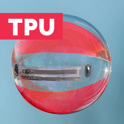 Waterball TPU 2m Bicolore Rouge