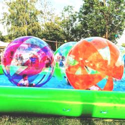 Waterball TPU 2m Bicolore Jaune