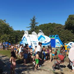 Achat Parc Aquatique Gonflable Aqualand