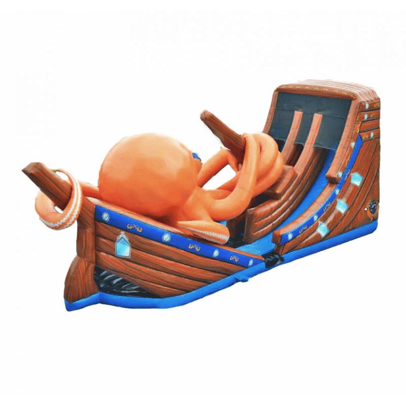 Toboggan Gonflable Pieuvre Géante