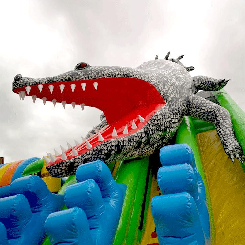 Vente Occasion Toboggan Gonflable Crocodile
