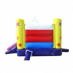 Château gonflable cirque : une expérience de jeu multicolore !