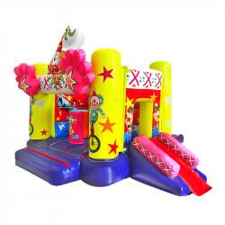 Château Gonflable Cirque : un Toboggan Gonflable pour les petits
