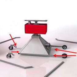 Achat Taureau Mécanique Rodéo Gonflable, Machine sur Roulette