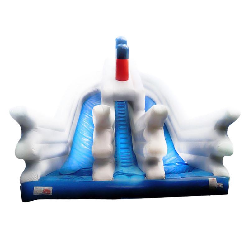 Achat Toboggan Gonflable Titanic Occasion, Jeux Gonflables Occasion à vendre