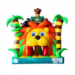 Achat Parcours Gonflable King Lion, Parcours Gonflable à Vendre