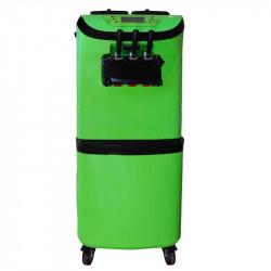 Achat Machine à Glace Italienne Pro Vert 2950w : 3 manettes, 1 mix + 2 parfums