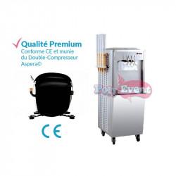 Achat Machine à Glace Italienne 2700w Porte Cônes : qualité premium