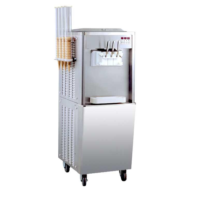 Achat Machine à Glace Italienne 2700w Porte Cônes