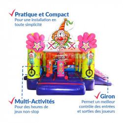 Achat Chateau Gonflable Cirque : qualité professionnelle