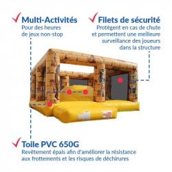 Achat Dôme Château Gonflable Egyptien : sécurité et qualité