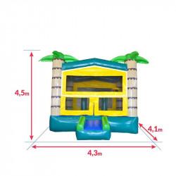 Achat Château Gonflable OASIS : qualité premium : dimensions