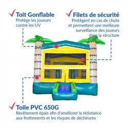 Achat Château Gonflable OASIS : qualité premium