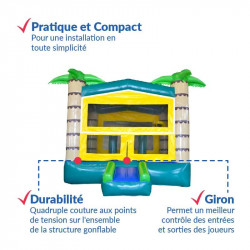 Achat Château Gonflable OASIS : des atouts incontournables