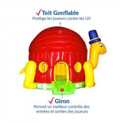 Achat Château Gonflable Tortue : qualité professionnelle