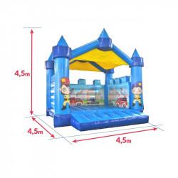 Dimensions du Château gonflable pompier