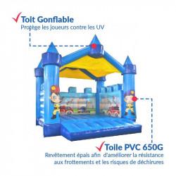 Achat Château Gonflable Pompier : qualité premium