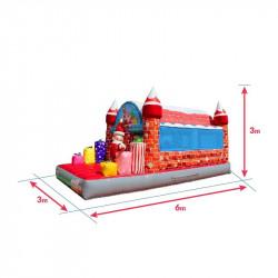 Achat Château Gonflable Père Noël : dimensions