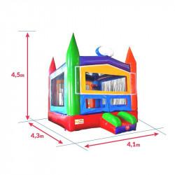 Achat Château Gonflable Ecolier : dimensions