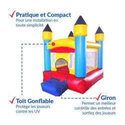Achat Château Gonflable des Tout-Petits : sécurité renforcée