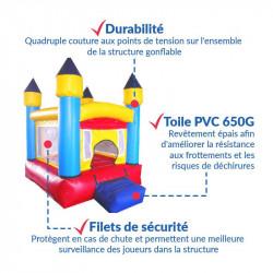 Achat Château Gonflable des Tout-Petits : qualité professionnelle
